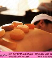 Viên đá muối massage