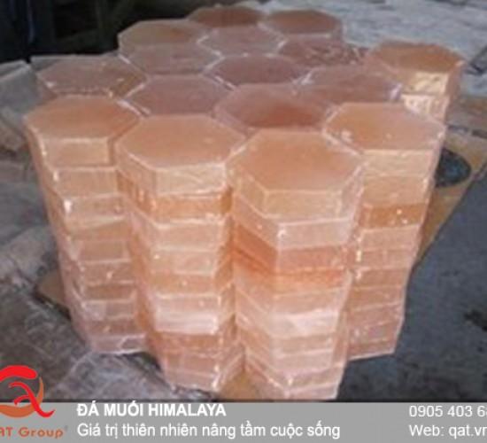 Đá muối xây dựng hình lục giác