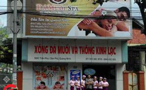 Spa đá muối Cẩm Phả, Quảng Ninh