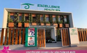 Phòng xông đá muối thảo dược có mặt tại Excellence Health Spa Hạ Long