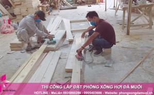 Gấp rút chuẩn bị nguyên vật liệu trước khi triển khai dự án Jjimjilbang The Pearl Hoi An