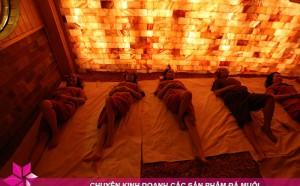 Ứng dụng của đá muối Himalaya trong xây dựng phòng xông hơi