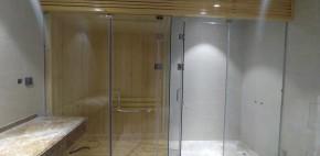 Tiến độ thi công các phòng xông khô & ướt tại Mikazuki Spa GĐ 2