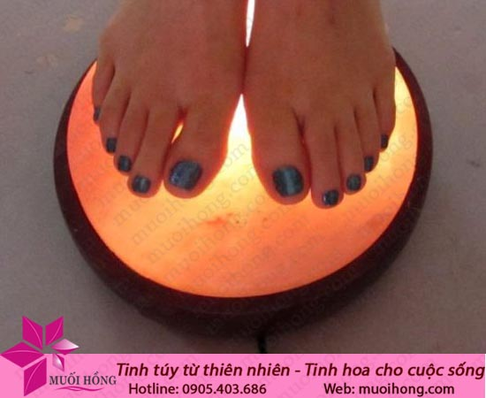 Đèn đá muối massage chân MC002