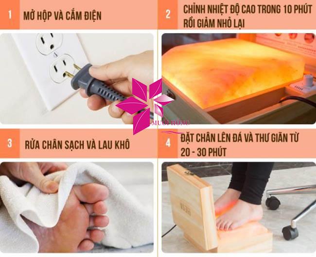 Sử dụng hộp massage chân đá muối sai cách – lợi bất cập hại4