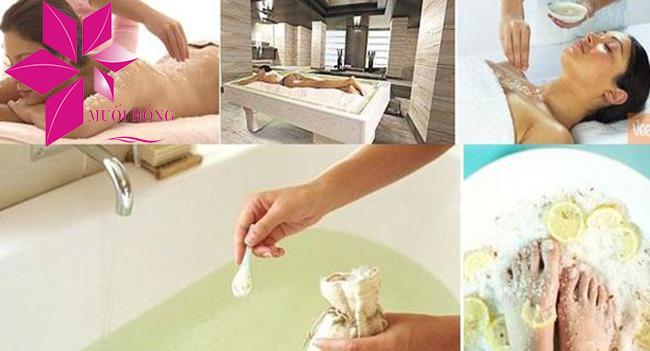 """muối hồng himalaya – """"mỹ phẩm"""" chăm sóc da của chị em 3"""