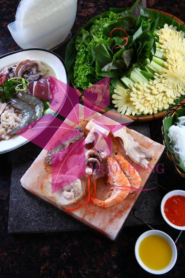 Nướng đá muối – kiểu nướng ĐỘC và LẠ đang rất thịnh hành ở Việt Nam3
