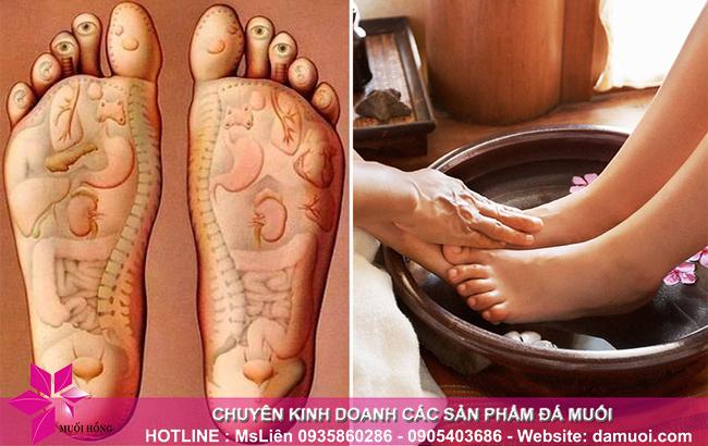 Tại sao nên ngâm chân với nước ấm và muối hồng Himalaya thường xuyên_1