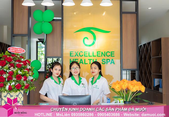 phòng xông đá muối thảo dược có mặt tại excellence health spa hạ long 2