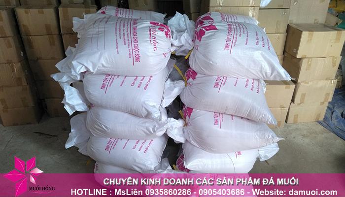 sản phẩm đá muối himalaya của công ty muối hồng 2
