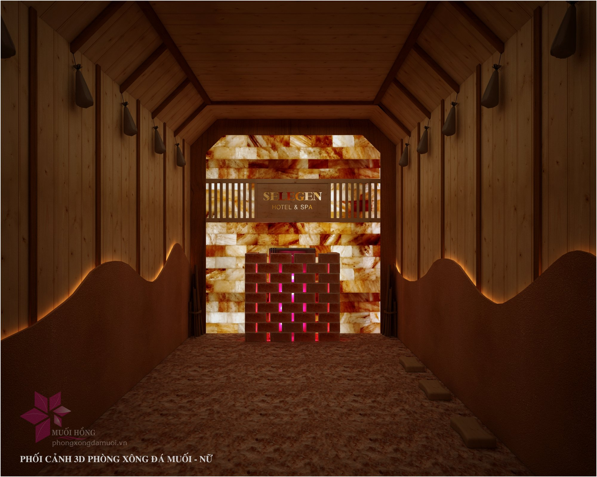 selegend hotel sap ra măt khu xong hoi massage dang cap 4 sao 2